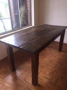 Recycled Table from Railway Sleeper Vaucluse Eastern Suburbs Preview