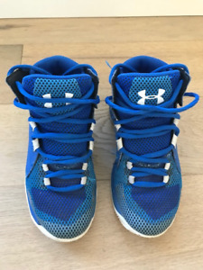 Kids Size 12 Under Armour Basketball Shoes