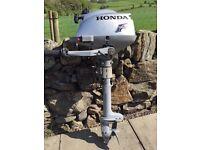 Honda 2.3hp Outboard Engine