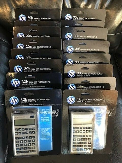 HP 30B Business Professional Financial Calculator lot of 16