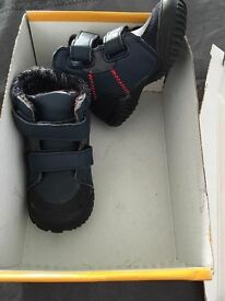 Pair of boys shoes