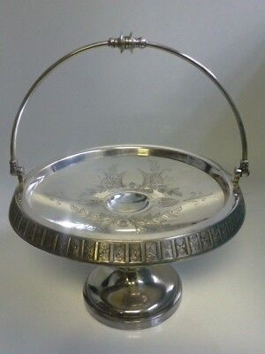 F.B. Rogers & Co. Victorian Silver Plate Compote / Basket