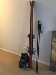 Atomic skis Nordica boots Oakley goggles Karbon pants LIKE NEW