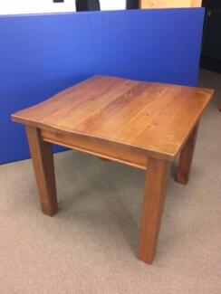 Solid wood square end/side table, originally from Freedom