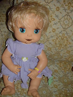 BABY ALIVE Soft Face Blonde Interactive Doll RETIRED RARE  for sale  Fairview