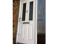 FREE U.P.V.C Door (in fitted frame)