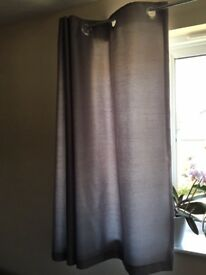 Two sets of short curtains