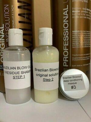 BRAZILIAN BLOWOUT original solution kit 1oz -, steps 1-2-3