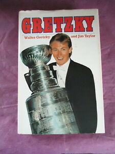 Two hard cover & dust jacket sports books, Gretzky and Drysdale