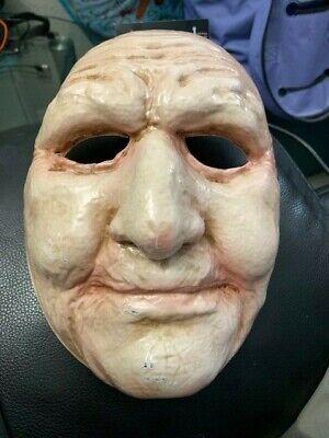 Old Lady Mask (Old Lady Beige Womens Adult Grandma Halloween Costume Mask)