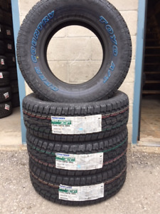 4 P245/70/16 Toyo Open Country AT II tires installed SALE $550
