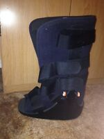 Hospital issued boot