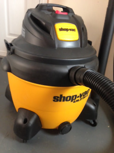 Be Prepared for Anything - Like New 60L Shop-Vac Ultra Vacuum
