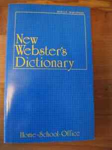 NEW  WEBSTER'S  DICTIONARY  for  the  HOME, SCHOOL & OFFICE