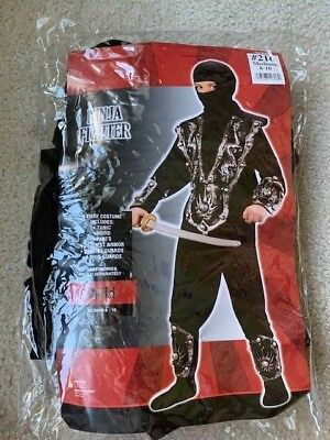 Halloween Costume Ninja Fighter for a child size Medium 8-10](Halloween Costumes For A Baby)