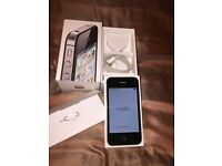 iPhone 4s 32Gb unlocked plus Maxboost extended battery and 2 cases