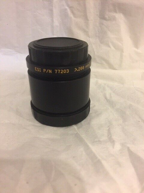 ESI  part# 77203 laser scanning lens for 266nm