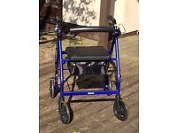 Drive Medical Lightweight Rollator Walking Aid