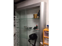 Glass Shop Display Cabinet - fraction of cost new
