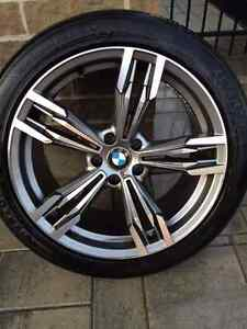 Set of 4 tires plus MAGS for BMW X5