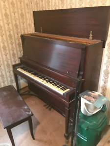 """Doherty Pianos """"Clinton"""" Upright Grand Piano For Sale"""
