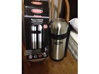 Brand new Thermos food & drink flask