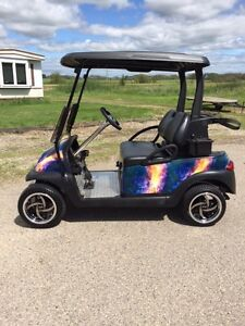 Golf Cart CUSTOM CLUB CAR GAS 2011 Regina Regina Area image 2