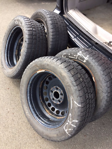 """16"""" Winter Tires with Rims"""