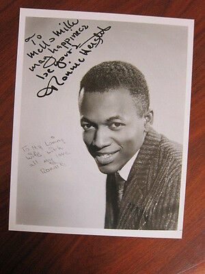 RONNIE HEIGHT  8x10 photo AUTOGRAPHED