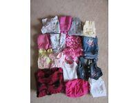 Girls clothes bundle 3-6, 6-9, 9-12 months matalan