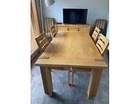 Oak Dining room furniture set