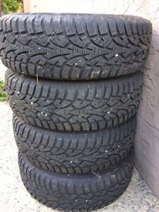 Honda Ice and Snow Tires