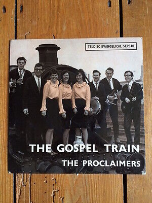 The Proclaimers; The Gospel Train on Teldisc Evangelical Xian folk EP