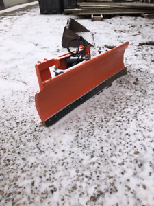 Skid Steer Plow Attachment