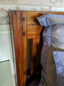 King Size Bed & Mattress.