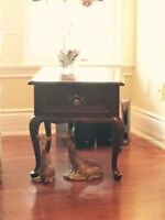 GIBBARD HIGH END COFFEE TABLE & END TABLES