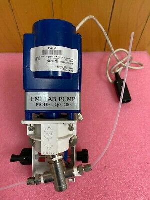 Fmi Fluid Metering Pump  Q Pump Model Qg400 Lc