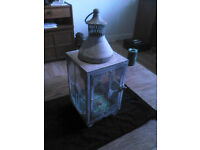 very old lantern just needs a candle