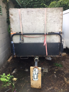Utility Trailer with Ramp for Sale in Prescott!