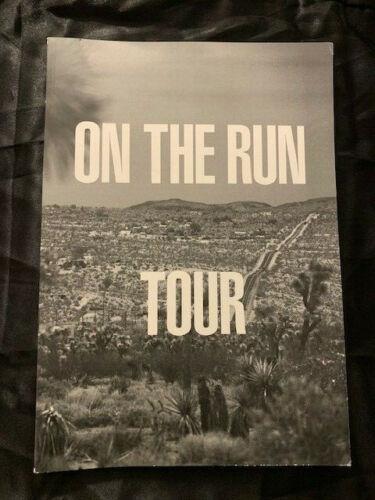 BEYONCE  JAY Z  2014 ON THE RUN TOUR  TOUR BOOK PROGRAM