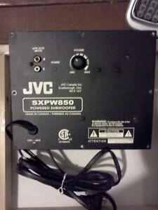 JVC SXPW850 power subwoofer