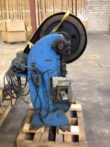 Punch Press, 12 ton Alva Allen OBI Bench type, 115/230 volt 1 phase electrics