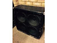 """Behringer Ultrastack BG412H 4x12"""" Angled Guitar Speaker Cabinet (£50)"""