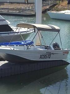 Stacer 3.99 Proline White with Trailer, Fish Finder, Yamaha Motor Kippa-ring Redcliffe Area Preview