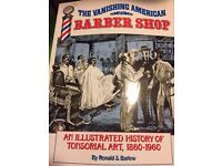 Vanishing American Barber Shop : An Illustrated History of Tonsorial Art from 1860