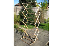 Traditional Style (folding) Wooden Clothes Horse/Airer