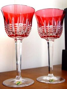Waterford-Crystal-SIMPLY-PINK-Goblets-NEW-in-BOX
