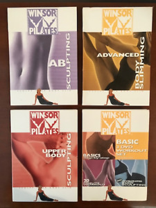 Winsor Pilates Exercise Set of 6 DVDS