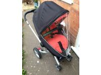 Silvercross Surf Pushchair with cozy toes and raincover