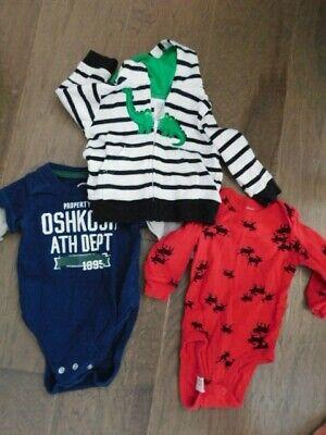 Osh Kosh, Carters  Size 6 months Baby boy Hoodie, Tops Long Sleeve
